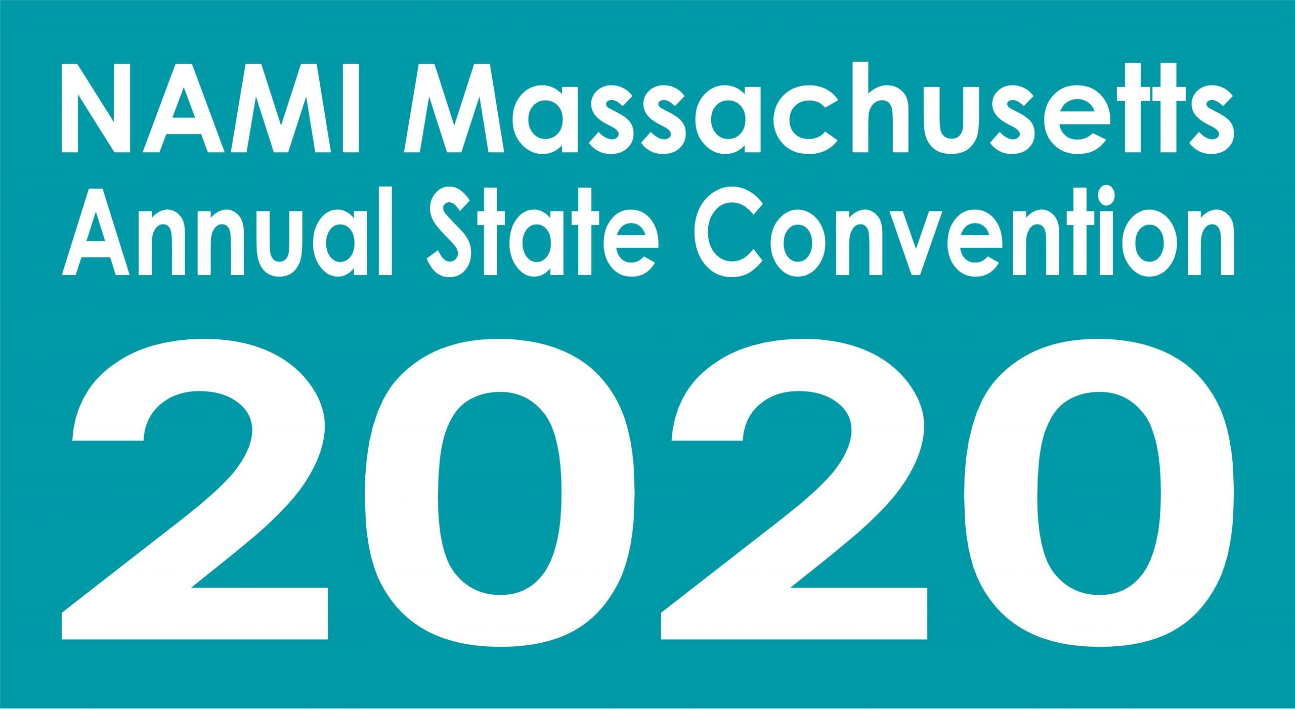 NAMI Massachusetts Annual State Convention 2020 in teal