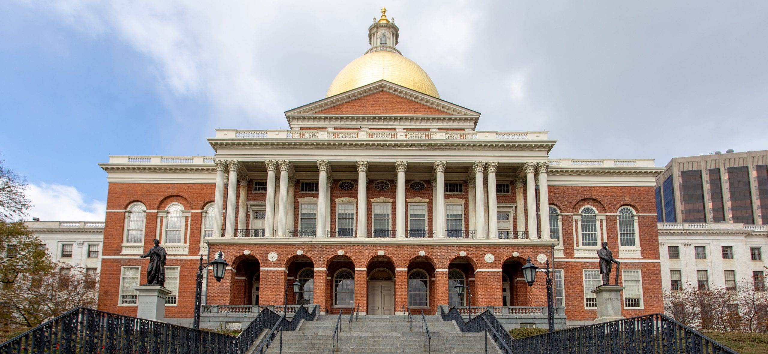 photo of the Massachusetts State House