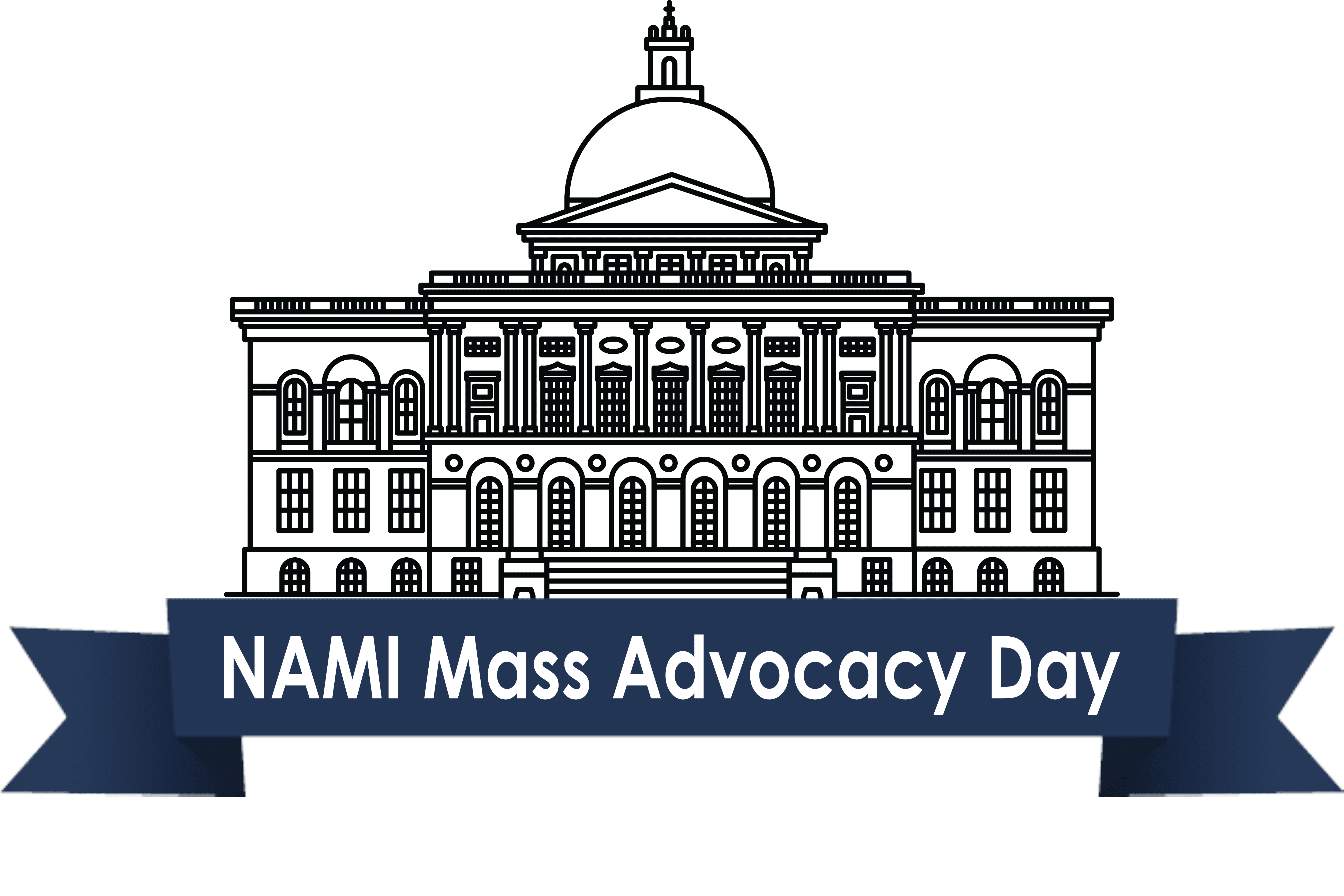 NAMI Massachusetts Advocacy Day logo