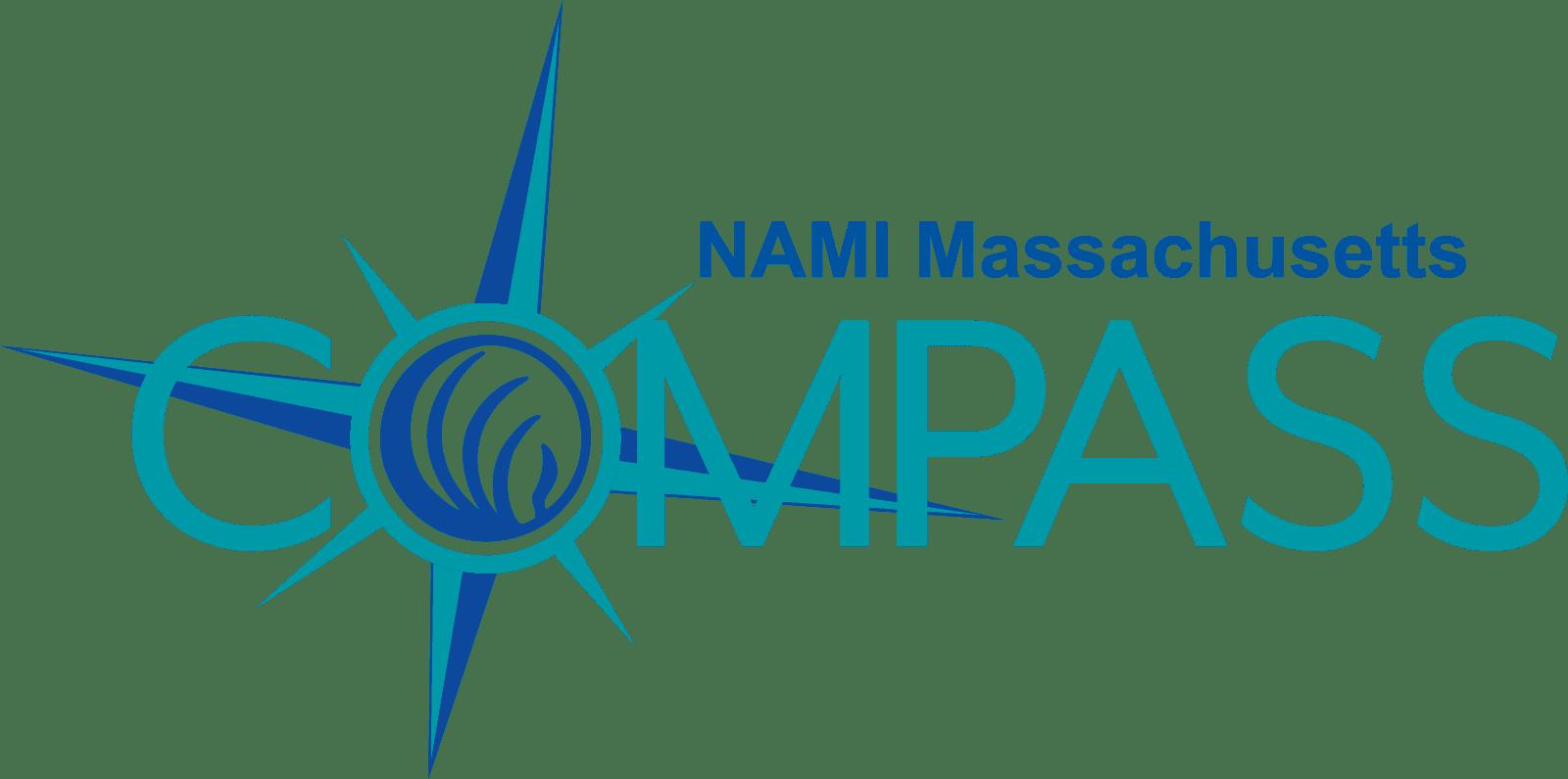 NAMI Massachusetts Compass Helpline logo