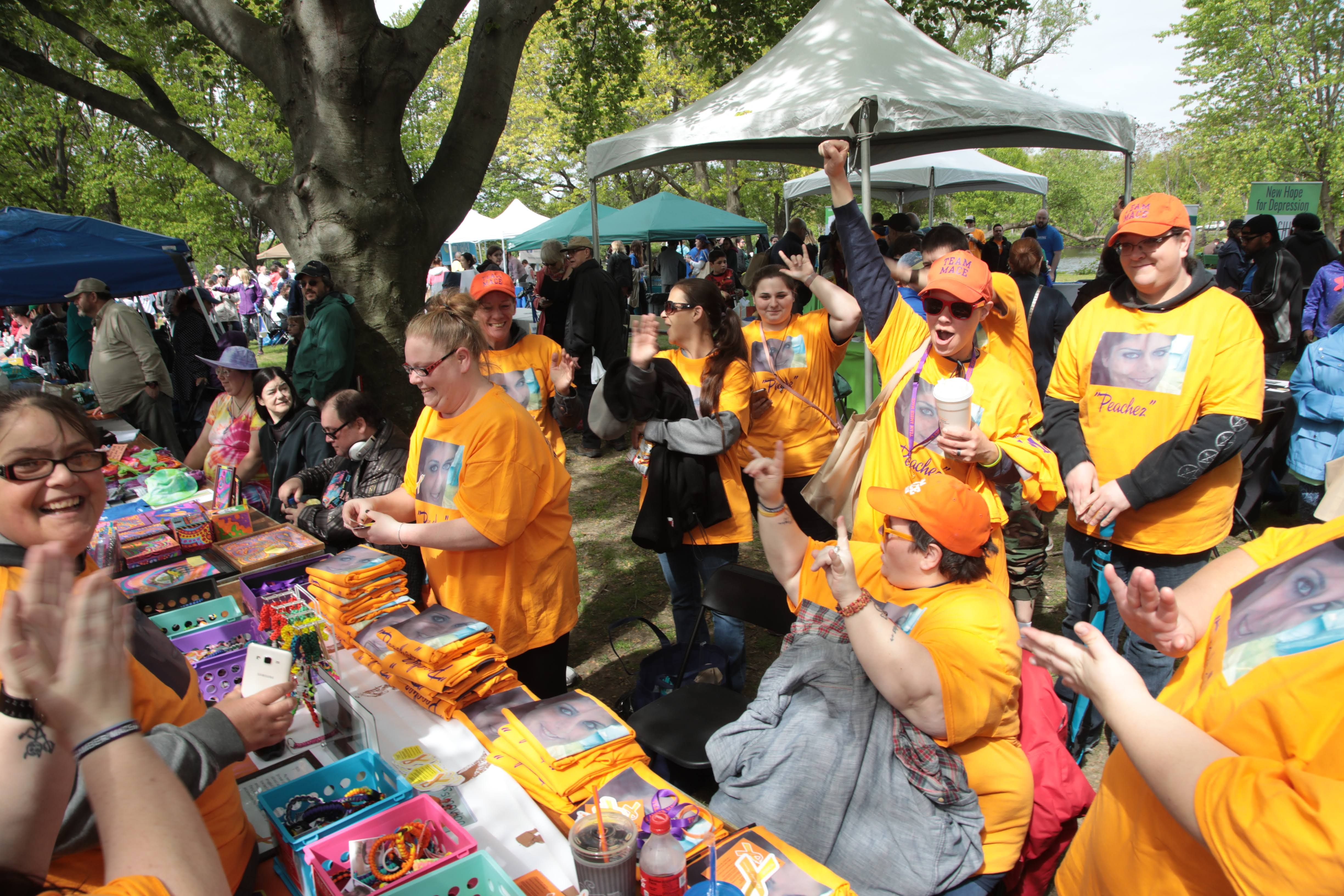 vendors at NAMIWalks Massachusetts