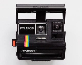image of a polaroid camera